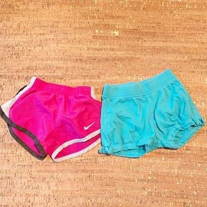 2 Pairs Size 18 Months Girls Shorts